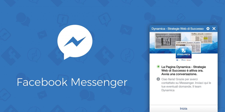Come fare in modo che la chat sulle pagine Facebook si apra in automatico
