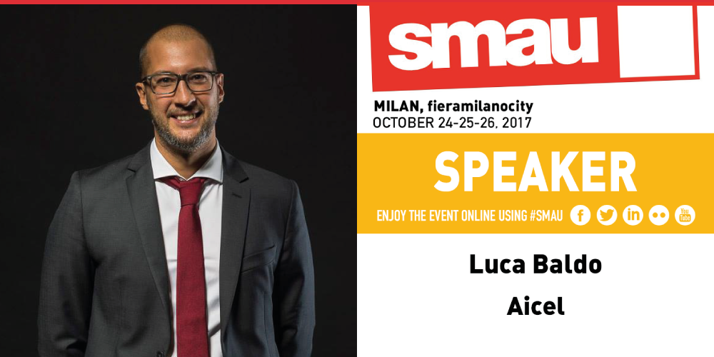 Luca Baldo allo SMAU di Milano spiega come migliorare le prestazioni di un ecommerce.